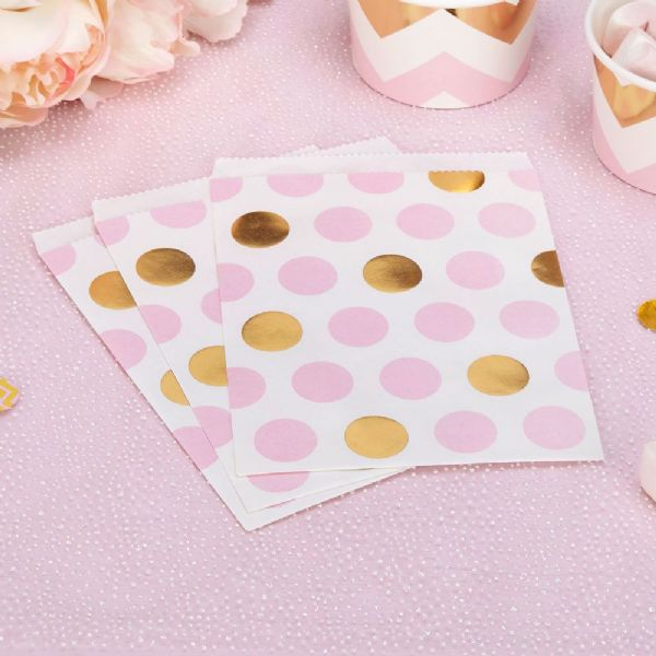 Pattern Works Pink Dots Sweet Bags (25)